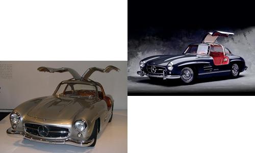 مرسدس بنز گال وینگ ۳۰۰ اس ل اس ۱۹۵۵ تا ۱۹۵۷